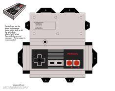 Imprimibles: Papercraft Super Mario Bros - El invernadero creativo