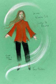 """June Hudson's Costume design for Lalla Ward as """"Romana"""""""
