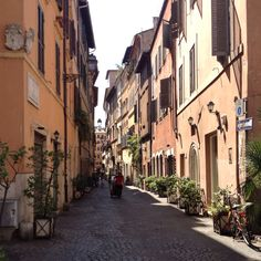 Another beautiful street near Piazza Navona