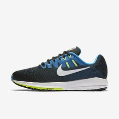 info for 1355d d5a3a Nike Air Zoom Structure 20 Extra Wide Black Photo Blue Ghost Green White  Sale UK
