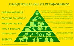 Ce ne spune piramida alimentelor sănătoase? #Infografica #Bonduelle Nutrition