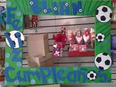 Fut-bol Photo Frame Prop, Photo Props, Football Themes, Soccer Party, Ideas Para, Birthdays, Gift Wrapping, Baby Shower, Bsl