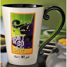 Grasslands Road Halloween Pretty Wicked Mug Catty 468213