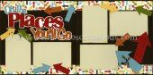 Oh The Places You'll Go Scrapbook Page Kit