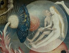 .:. Detail from The Garden Of Earthly Delights, Hieronymus Bosch, 1490 - 1510