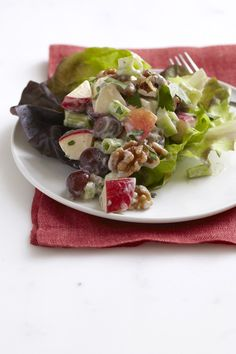 Fond memories of my mom making this as a kid! :) Classic Waldorf Salad | Vegetarian Times