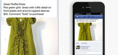 Soldsie app allows users to purchase items on Facebook by writing 'Sold' in the comments box!