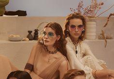 "d7aad772e8b7 Layered Femininities emerge as statement jewellery and sunset-hued eyewear  in ""A Warm Soft"