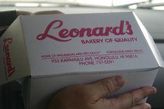 Leonard's Malasadas.  Honolulu, Hawaii