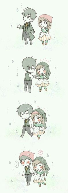 Adorable...Klaus and Minori from SoS
