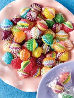 Fruit Filled Seashell Candy