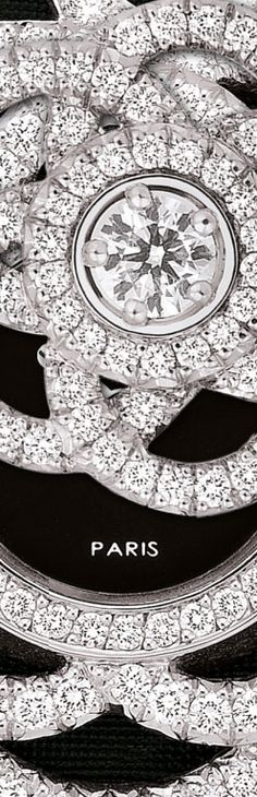 CHANEL watches - JEWELLERY WATCHES WATCH IN 18K WHITE GOLD, ONYX AND DIAMONDS