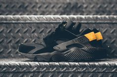 "Nike Air Huarache ""Black & Metallic Gold"" - EU Kicks Sneaker Magazine"