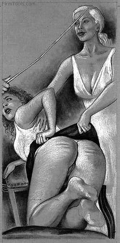 Vintage spankings fantasy