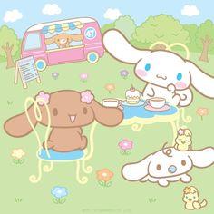 Image via We Heart It https://weheartit.com/entry/77566431 #cinnamoroll #cute #kawaii #sanrio