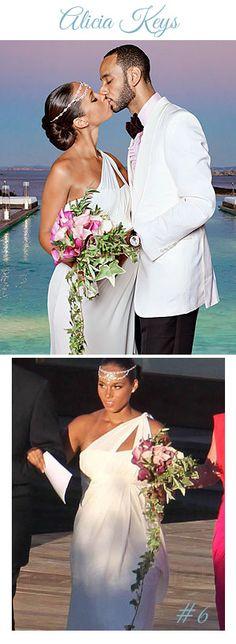 Breaking Bridal: Unexpected Celebrity Wedding Looks ...