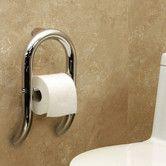 Found it at Wayfair - Invisia Toilet Paper Dispenser and Integrated Support Rail Ada Bathroom, Handicap Bathroom, Bathroom Safety, Bathroom Toilets, Small Bathroom, Master Bathroom, Handicap Toilet, Modern Bathrooms, Bathroom Ideas