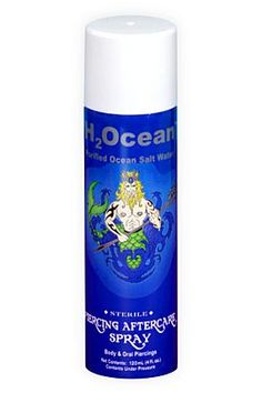 H2Ocean Piercing Aftercare Spray ~ Great for new piercings.