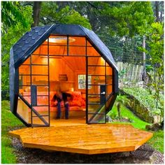Tiny Homes...... #tinyhomes #smallhomes #tinyhouse #smallhouse #coolbuildings #uniquebuildings #cubes #funkyhomes #dopedomicile #funkybuilding by dowsley_kustoms