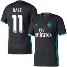 Camiseta del Real Madrid 2017-2018 Visitante + Bale 11 (Dorsal Oficial)   6ef04415944ba