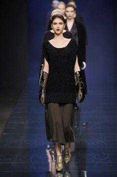 Sweater dress Anteprima, Fall-Winter 2013-2014 :: Milan Fashion Week