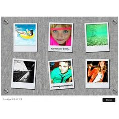 cadre photo magnet polaroid