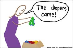 The good and bad of cloth diapers in crappy pictures.  lol  Too true