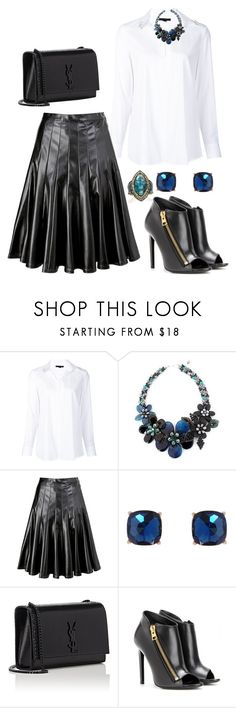 """""""Untitled #3343"""" by janicemckay ❤ liked on Polyvore featuring Alexander Wang, NOVICA, Marc by Marc Jacobs, Humble Chic, Yves Saint Laurent, Tom Ford and Sevan Biçakçi"""