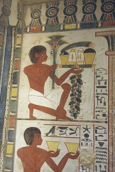 Tomb of Nakht , Sheikh Abd el-Qurna, Luxor, Egypt Ancient Egyptian Paintings, Ancient Egyptian Artifacts, Ancient Egypt Art, Old Egypt, Ancient History, Art History, Kemet Egypt, Luxor Egypt, African History