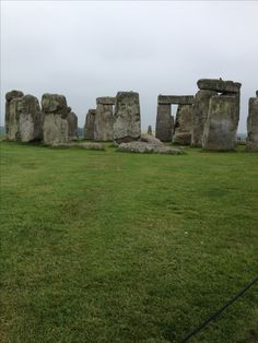 Stonehenge. Looked like this when I went