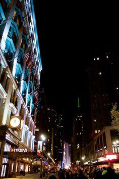 NY street 7st AV