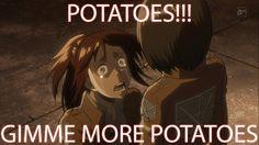Shingeki no Kyojin - Moar Potatoes!!!