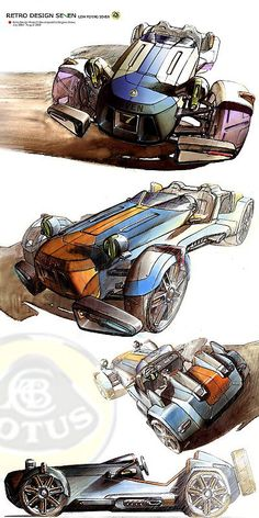 A new seven design sketch