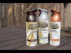 Rust-Oleum UNIVERSAL® Hammered Paint & Primer - YouTube Metallic Paint Colors, Rustoleum Metallic, Paint Primer, Beer Bottle, Youtube, Painting, Painting Art, Beer Bottles, Paintings