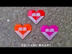 Origami true Heart (Valentine's day) special - YouTube