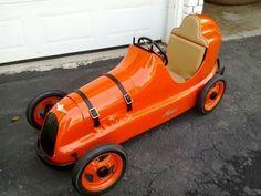 Rare Austin Pathfinder Pedal Car Totally Restored
