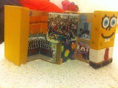 Álbum de caixa