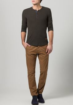 Jack & Jones - BOLTON DEAN - Chinosy - dark camel