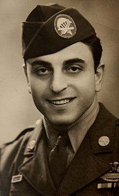 The real life Frank Perconte. He was portrayed by James Madio in Band of Brothers.