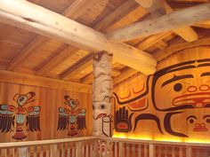 Tlingit Ceremonial House