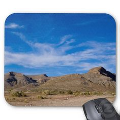 Dry Desert Mouse Pad by Florals by Fred #zazzle #gift #photogift