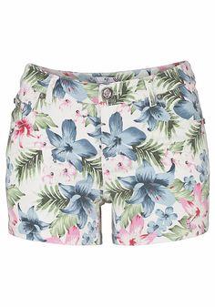 Aloha! Die Shorts von AJC mit Blumendruck im Hawaii-Stil machen Lust auf Ferien.