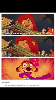 Lion King Funniest Part I Can Even Sing The Whole Song