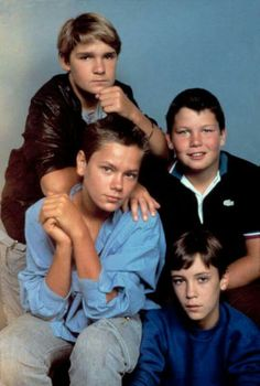 River Phoenix, Corey Feldman, Wil Wheaton, and Jerry O'Connell in Stand by Me Stand By Me, Johnny Depp, River Phonix, Jerry O'connell, Corey Feldman, Wil Wheaton, Image Film, Actors, Teen