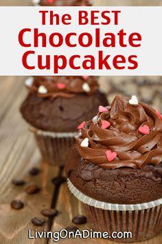 The BEST Chocolate Cupcakes Recipe