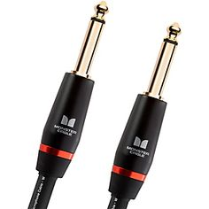Monster Cable Monster Bass 1/4 Inch Straight to Straight Instrument Cable 21 Foot