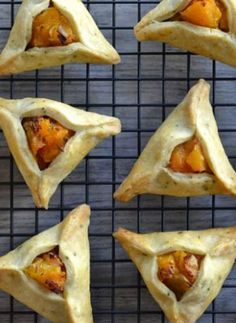 Savory Thanksgiving Hamantaschen. We waited all year for these.