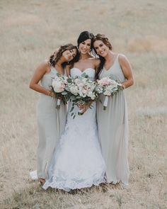 "14 Likes, 1 Comments - J E N A H W A L C H E S K E (@blushandcoco) on Instagram: ""Glam for these gorgeous ladies- I love all the colours in this photo- So stunning 💕💐👰🏻…"""