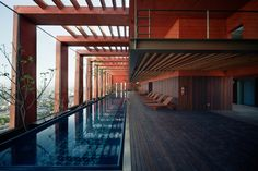 pool on the top | Reforma 27 | Alberto Kalach | #mexico #architecture