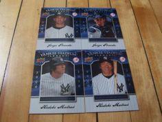Jorge #Posada Hideki #Matsui #2008 Upper Deck Yankee Stadium Legacy 4 Card Lot | #eBay #JorgePosada